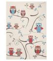 Kusový koberec Bambini 102786 Beige Blau Rot 140x200 cm