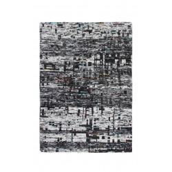 Ručně tkaný kusový koberec SAREE DE LUX 820 GRAPHITE