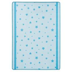 Kusový koberec Luna 102651 Blau 100x140 cm