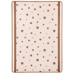 Kusový koberec Luna 102652 Braun 100x140 cm