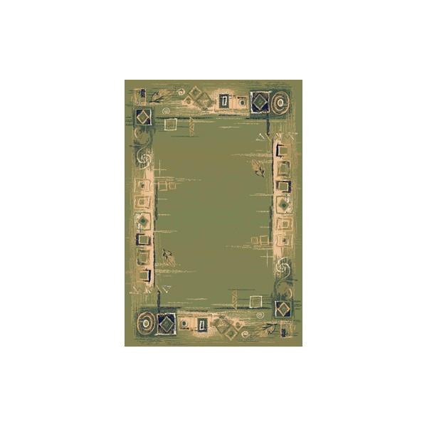 Sintelon koberce Kusový koberec Solid 07 AVA, 200x300 cm% Zelená - Vrácení do 1 roku ZDARMA vč. dopravy