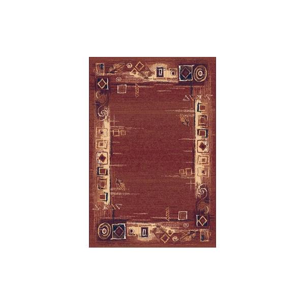 Sintelon koberce Kusový koberec Solid 07 COC, 200x300 cm% Červená - Vrácení do 1 roku ZDARMA vč. dopravy