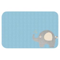 Protiskluzový kusový koberec Niños 103075 Blau 67x120 cm