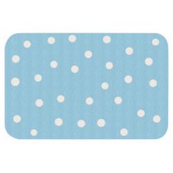 Protiskluzový kusový koberec Niños 103080 Blau 67x120 cm