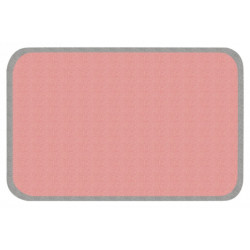 Kusový koberec Niños 103087 Grau-Rosa 67x120 cm