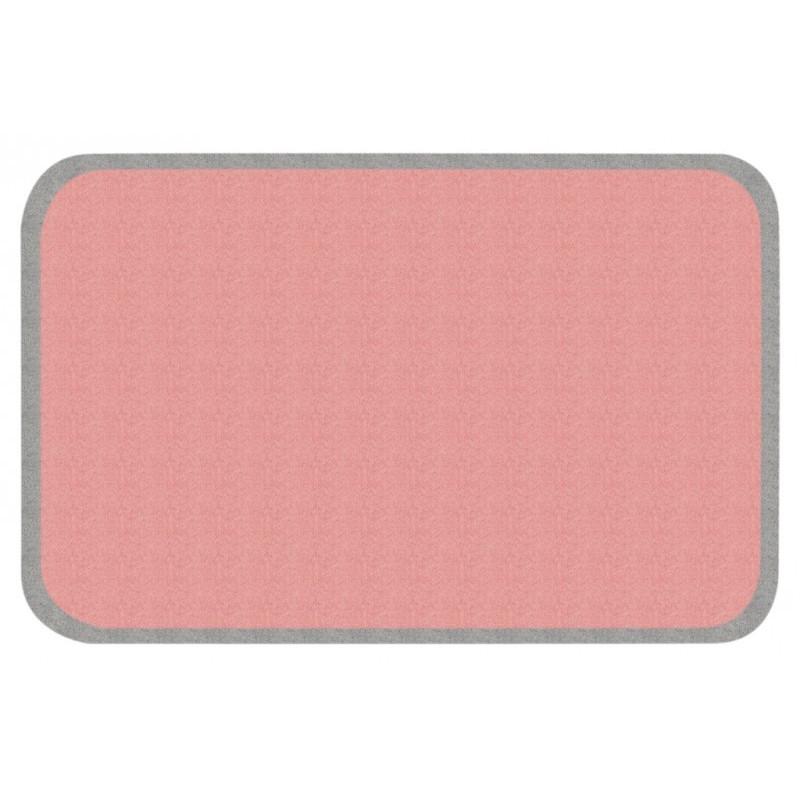 Protiskluzový kusový koberec Niños 103087 Grau-Rosa 67x120 cm