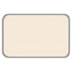 Protiskluzový kusový koberec Niños 103088 Grau-Creme 67x120 cm