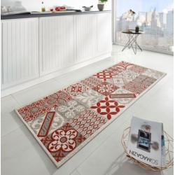 Běhoun do kuchyně Soho 102681 Beige Rot 80x200 cm (Vánoční)