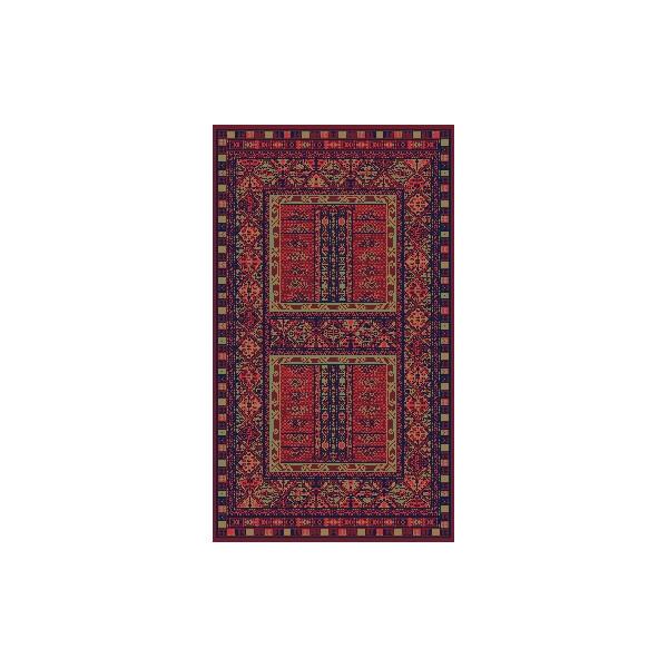 Sintelon koberce Kusový koberec Solid 14 CPC, 200x300 cm% Červená - Vrácení do 1 roku ZDARMA vč. dopravy