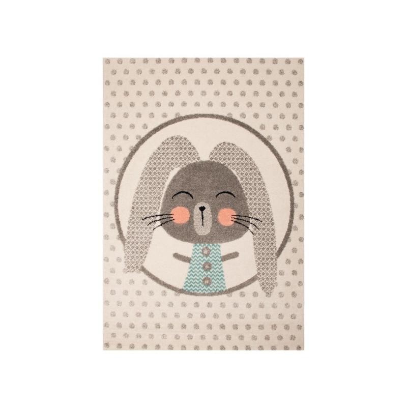 Dětský kusový koberec Vini 103026 Bunny Marty 120x170 cm