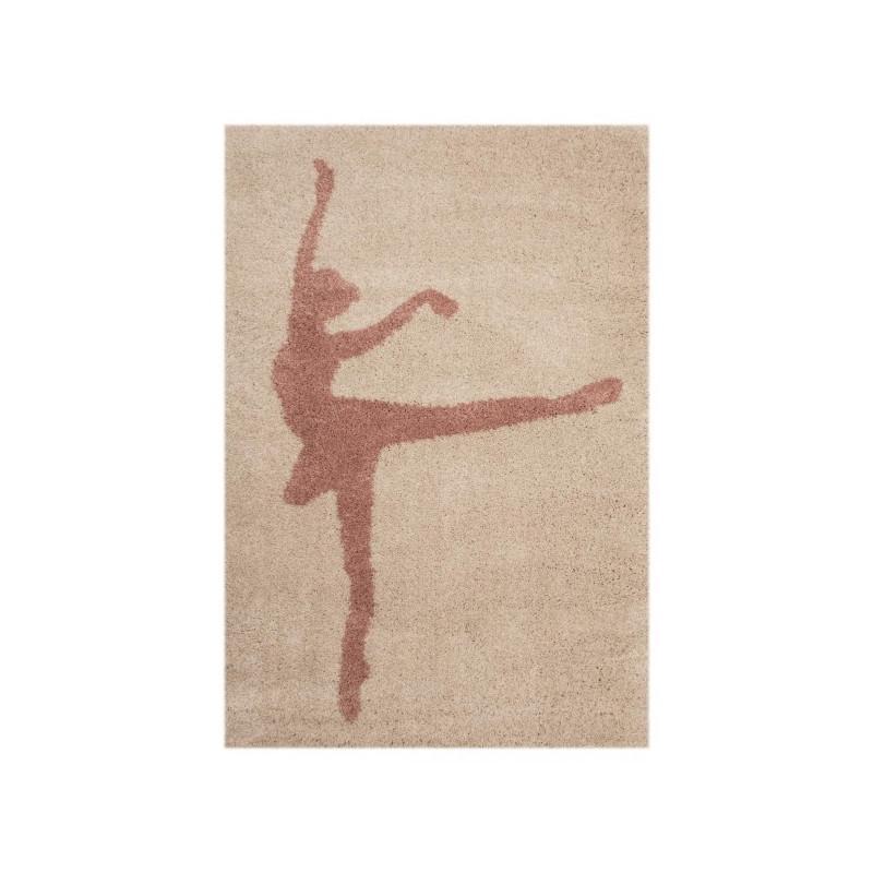 Dětský kusový koberec Vini 103020 Ballerina Stella 120x170 cm