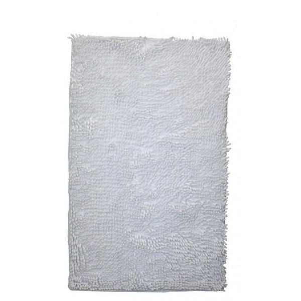 BO-MA koberce Koupelnová předložka RASTA MICRO bílá, kusových koberců 50x80 cm% Bílá - Vrácení do 1 roku ZDARMA vč. dopravy