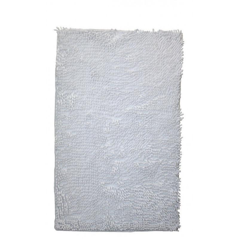 Protiskluzová koupelnová předložka RASTA MICRO bílá