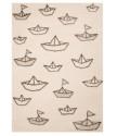 Dětský kusový koberec Vini 103017 Paper Boat Sammy 120x170 cm