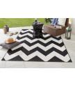 Kusový koberec Meadow 102738 schwarz/creme