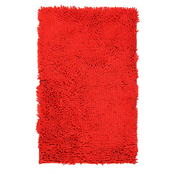 BO-MA koberce Koupelnová předložka RASTA MICRO červená, kusových koberců 50x80 cm% Červená - Vrácení do 1 roku ZDARMA vč. dopravy