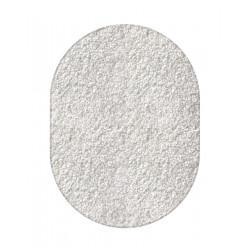 Kusový bílý koberec Eton ovál