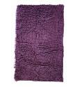Protiskluzová koupelnová předložka RASTA MICRO fialová