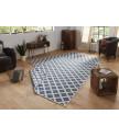 Kusový koberec Twin-Wendeteppiche 103128 blau creme