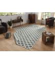 Kusový koberec Twin-Wendeteppiche 103125 grün creme