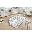 Kusový koberec Twin-Wendeteppiche 103121 grau creme