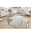 Kusový koberec Twin-Wendeteppiche 103118 grau creme