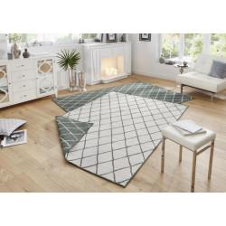 Kusový koberec Twin-Wendeteppiche 103117 grün creme