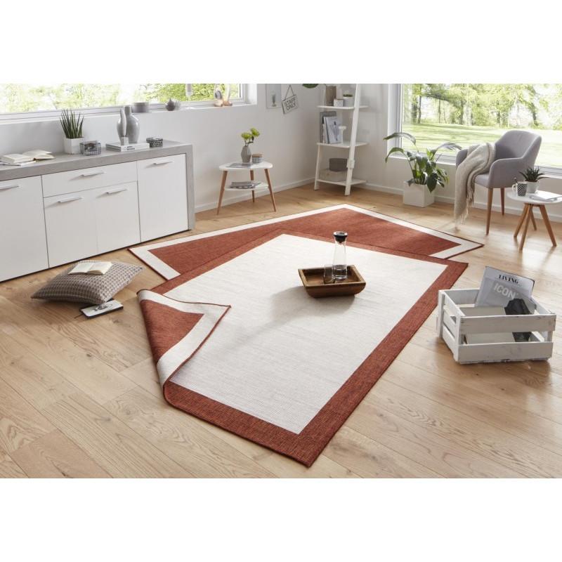 Kusový koberec Twin-Wendeteppiche 103106 creme terra