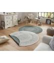 Kusový koberec Twin-Wendeteppiche 103103 creme grün