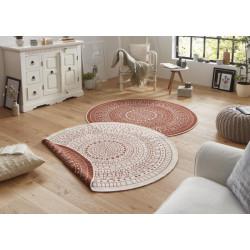 Kusový koberec Twin-Wendeteppiche 103102 creme terra