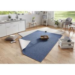 Kusový koberec Twin-Wendeteppiche 103100 blau creme