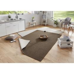Kusový koberec Twin-Wendeteppiche 103099 braun creme