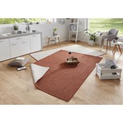 Kusový koberec Twin-Wendeteppiche 103098 terra creme