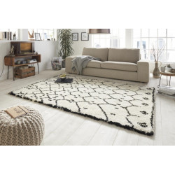 Kusový koberec Allure 102759 creme schwarz