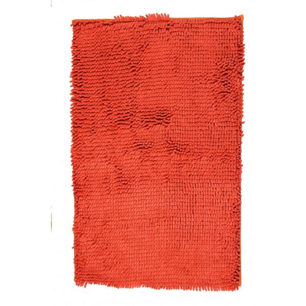 BO-MA koberce Koupelnová předložka RASTA MICRO oranžová, kusových koberců 50x80 cm% Oranžová - Vrácení do 1 roku ZDARMA vč. dopravy