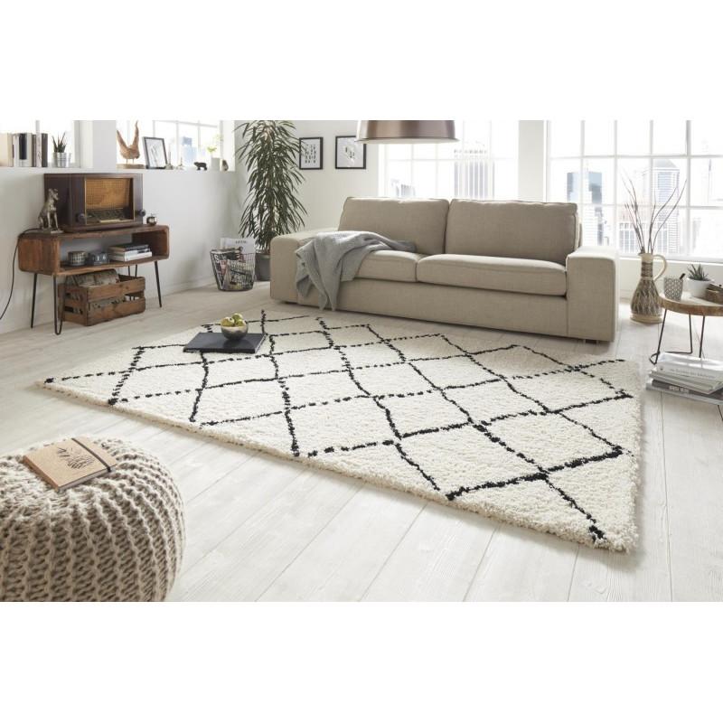 Kusový koberec Allure 102753 creme schwarz