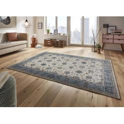 Kusový koberec Classico 102795 blau beige grau