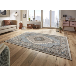 Kusový koberec Classico 102705 blau grau