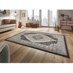 Kusový koberec Classico 102704 schwarz grau