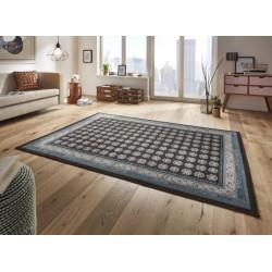 Kusový koberec Classico 102701 anthrazit blau