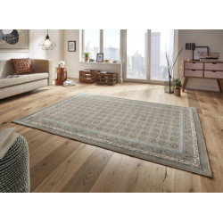 Kusový koberec Classico 102699 blau grau