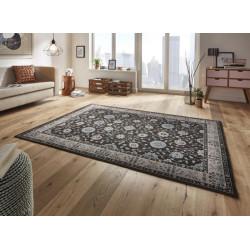 Kusový koberec Classico 102698 anthrazit blau grau