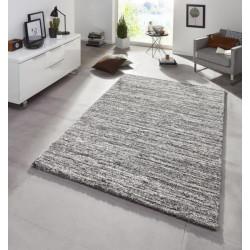 Kusový koberec Chloe 102807 dunkelgrau meliert