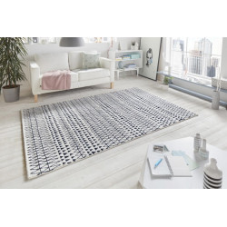 Kusový koberec Madison 102779 Schwarz Creme