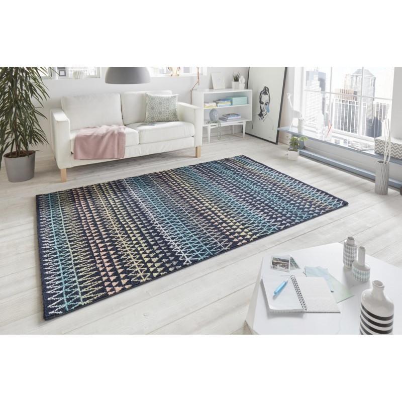 Kusový koberec Madison 102778 Bunt Schwarz