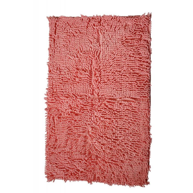 Protiskluzová koupelnová předložka RASTA MICRO růžová