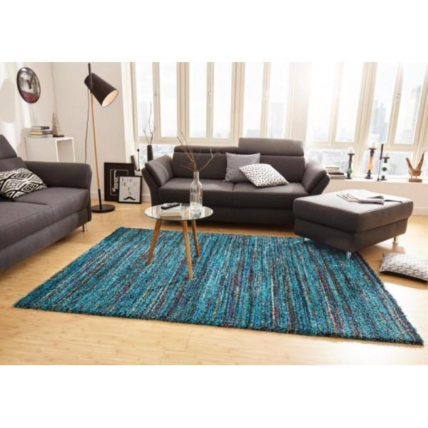 Kusový koberec Nomadic 102691 Meliert Blau, koberců 80x150 cm Modrá - Vrácení do 1 roku ZDARMA