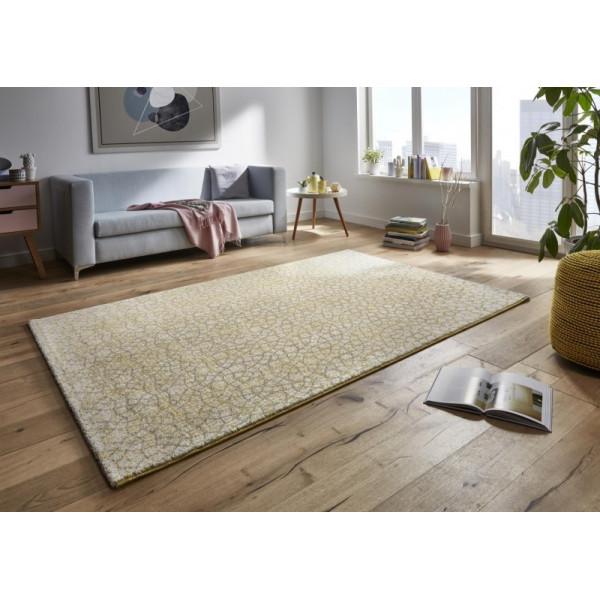 Mint Rugs - Hanse Home koberce Kusový koberec Tifany 102771 Gelb, koberců 80x150 cm Žlutá - Vrácení do 1 roku ZDARMA