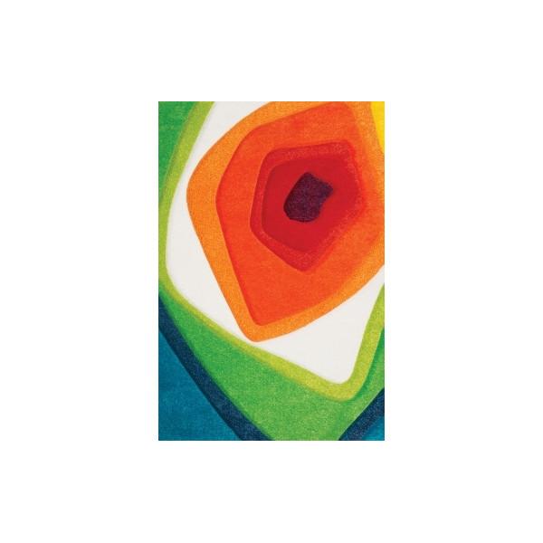 Sintelon koberce Kusový koberec Vegas Pop 10 WCK, kusových koberců 80x150 cm% Mnohobarevný - Vrácení do 1 roku ZDARMA vč. dopravy