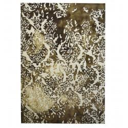Ručně tkaný a všívaný koberec Panipat Flower